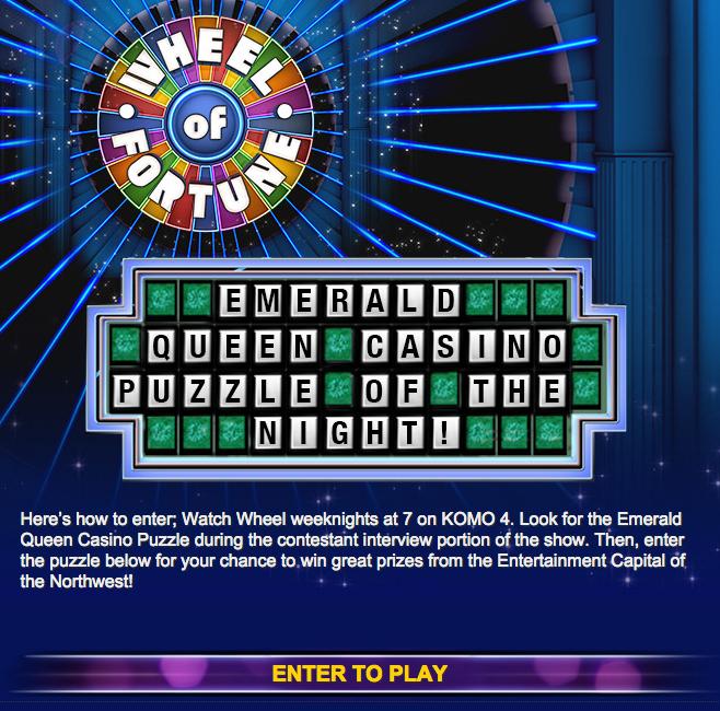 Wheel of Fortune - Emerald Queen Casino